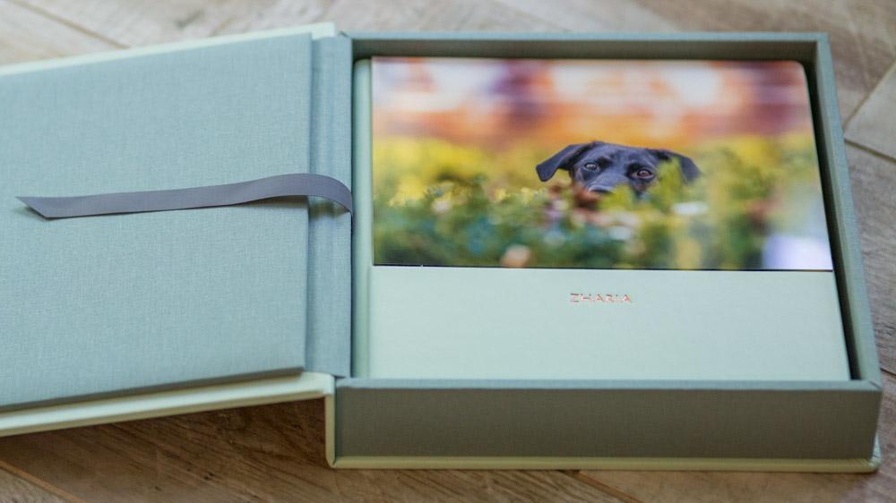 Pet Photo Acrylic Album