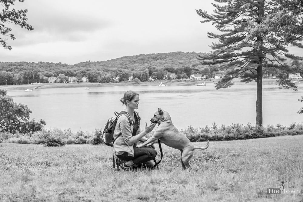 Mom and Meera - Maudslay State Park
