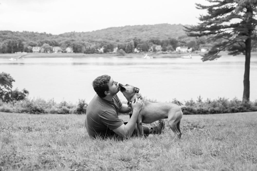 Dad and Meera - Maudslay State Park