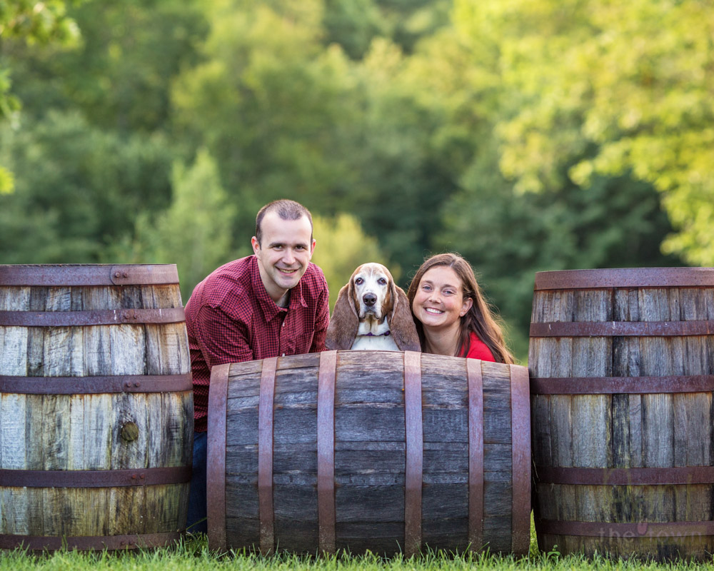 Pet Photography Zorvino Vineyards