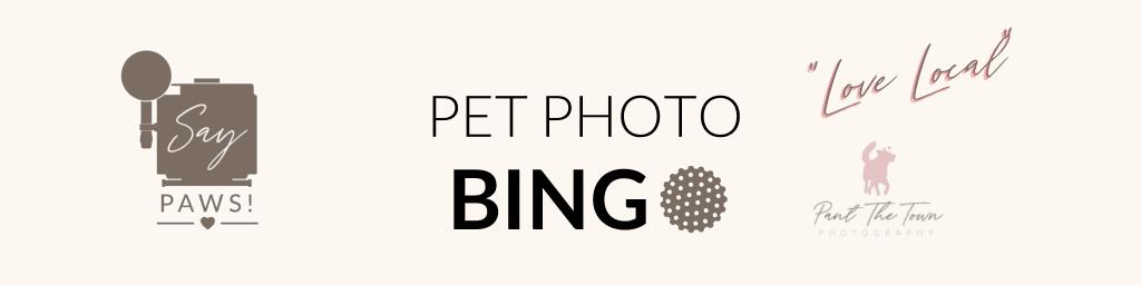 Pet Photo Bingo Love Local