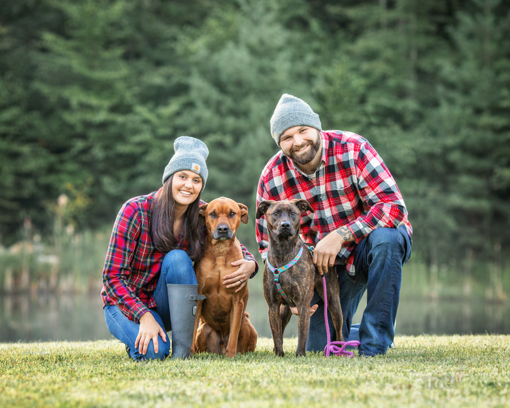 Fall Family Photos with Pets