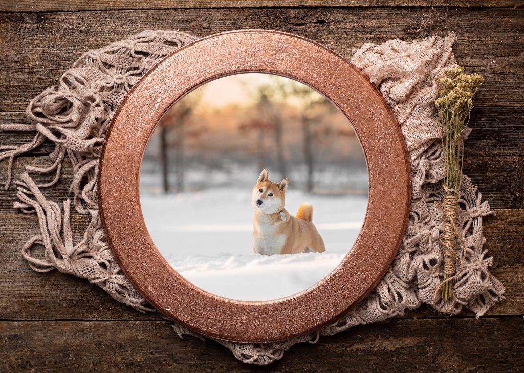 Bohemian Round Frame