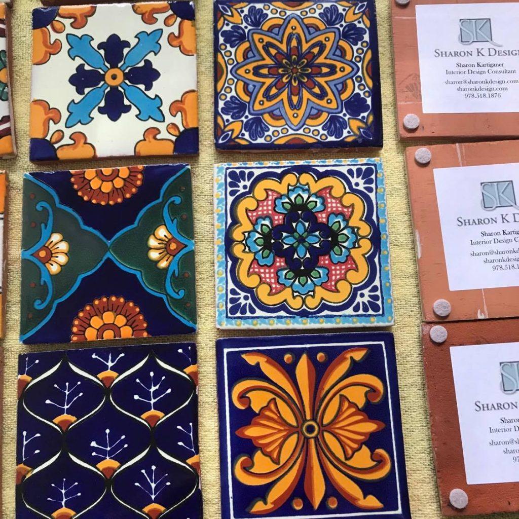 Decorative tile Sharon K Design