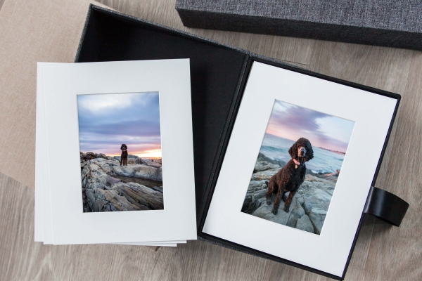Sample of Matted Prints from a NH beach photo session